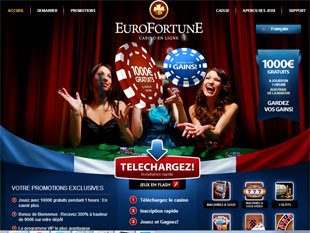 Euro Fortune Casino  Home